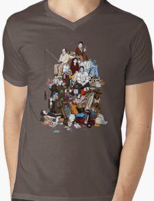 99 References Mens V-Neck T-Shirt