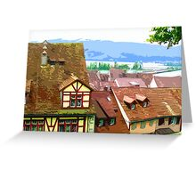 Walk Across Rooftops Greeting Card