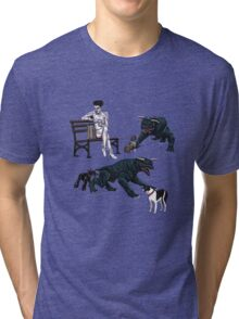 Gozer at the Dog Park Tri-blend T-Shirt