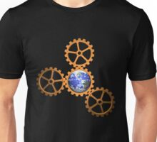 Earth in gears Unisex T-Shirt
