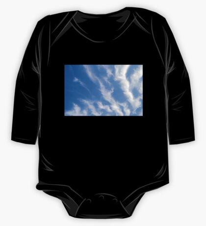 BLUE, SKY, CLOUDS, Weather, Climate, Blue Yonder, heaven One Piece - Long Sleeve