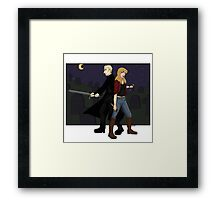 A good nights hunting Framed Print