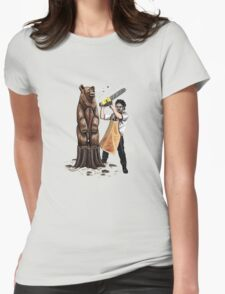 Leatherface's Secret Hobby Womens T-Shirt