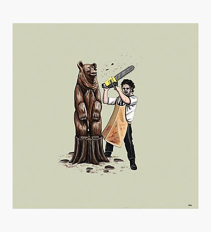 Leatherface's Secret Hobby Photographic Print