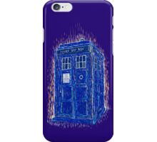 tardis by Vincent iPhone Case/Skin