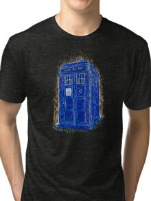 tardis by Vincent Tri-blend T-Shirt
