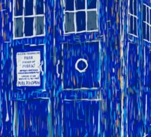 tardis by Vincent Sticker