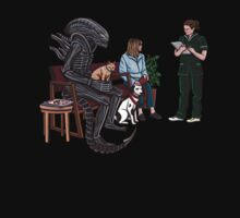 Alien Takes Jonesy to the Vet One Piece - Short Sleeve