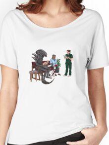 Alien Takes Jonesy to the Vet Women's Relaxed Fit T-Shirt