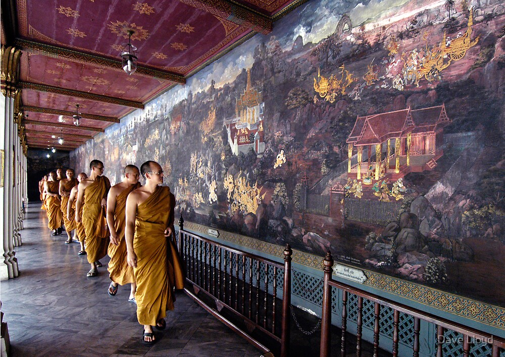 Monks And Murals by Dave Lloyd