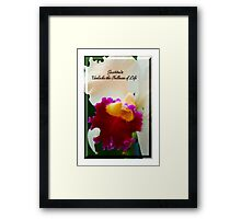 Gratitude Unlocks The Fullness Of Life Framed Print