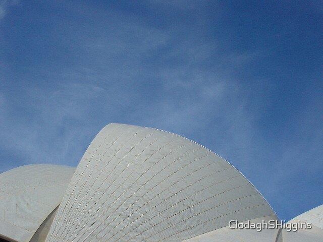 Sails of the Opera House Sydney Australia by ClodaghSHiggins