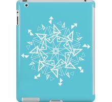 Snowflake - Triangles iPad Case/Skin