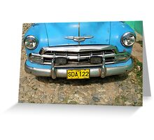 Old car Greeting Card