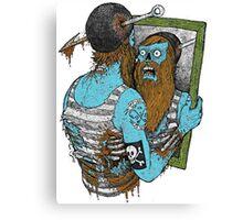 Fishing or Die! Canvas Print