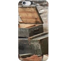 empty  military chest iPhone Case/Skin