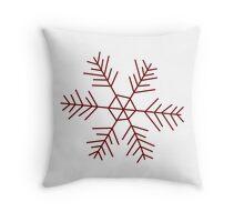 Snowflake 2 Throw Pillow