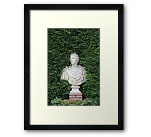 Ancient Marble bust Framed Print