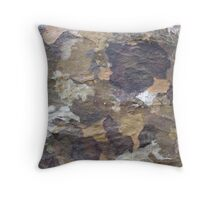 Tree up close at Paronella Park  Throw Pillow