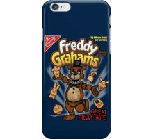 Freddy Grahams iPhone Case/Skin