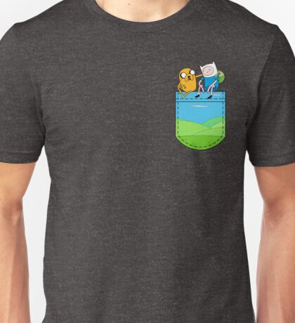 Adventure Time Pocket Unisex T-Shirt