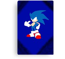 Blue Speed Canvas Print