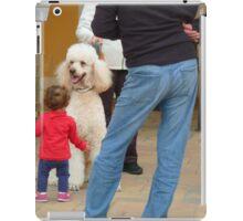 Child and Dog iPad Case/Skin