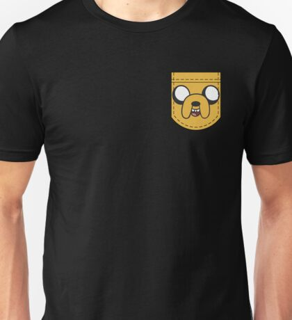 Jake The Dog Pocket Unisex T-Shirt