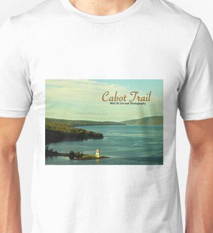 Cabot Trail Lighthouse Nova Scotia Unisex T-Shirt