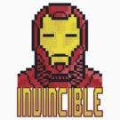 "8 Bit Headshots ""Invincible"" by Victor  Dandridge"