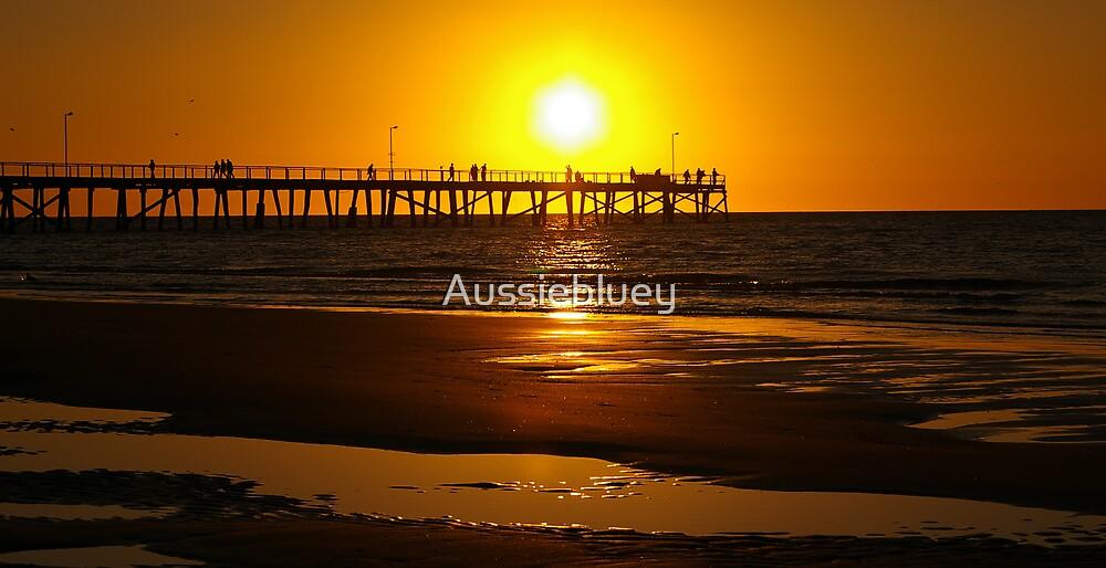 The Burning Sun. by Aussiebluey