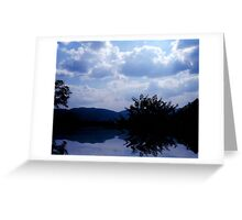 The Lakes View Greeting Card