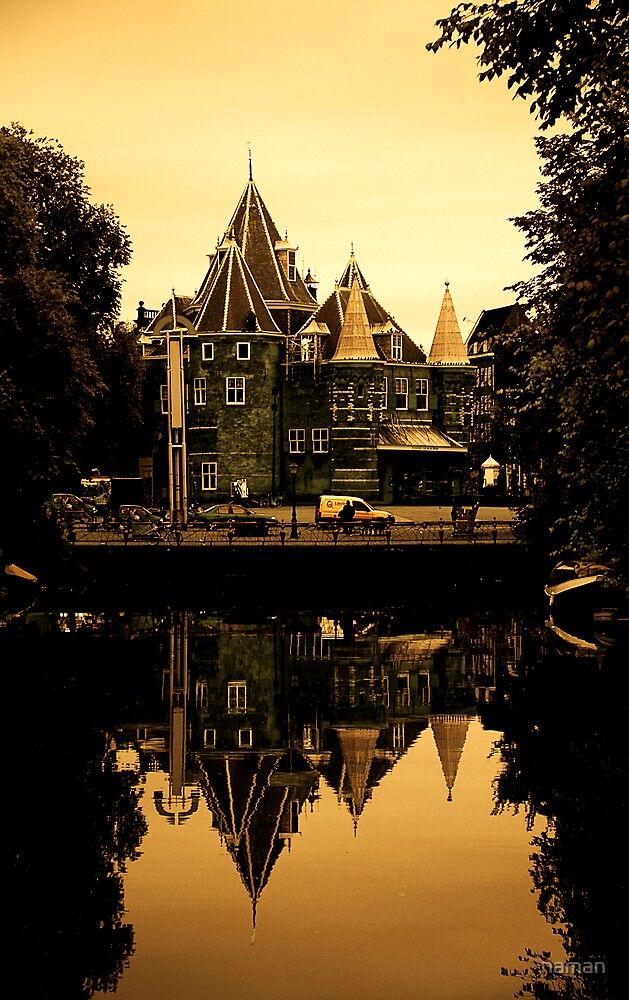 Places on Earth-De Waag-Amsterdam by naman