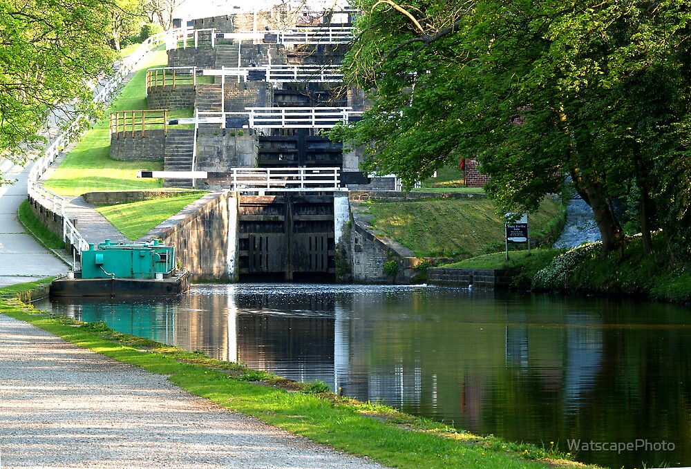 Bingley Five Rise Locks by WatscapePhoto