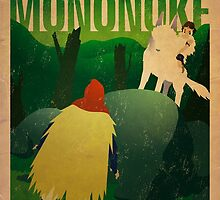Princess Mononoke - Day by James Bacon