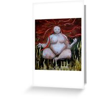 Goddess of Earth and Fire Greeting Card