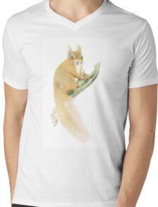 """Squirrel"" Mens V-Neck T-Shirt"