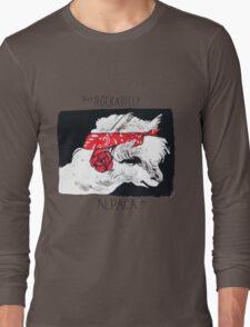 Rockabilly Alpaca, from the Camelid scene  Long Sleeve T-Shirt