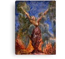 Willow Tree Spirit Canvas Print