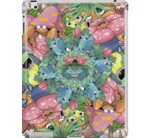 Grass Type Pokémon Collage iPad Case/Skin
