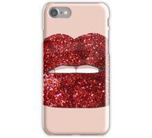 Glitter lips iPhone Case/Skin