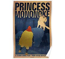Princess Mononoke - Night Poster