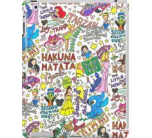 Disney Collage Art iPad Case/Skin
