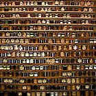 Comic Abstract Wall of Spices by steelwidow