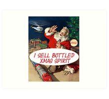 Selling Christmas Art Print
