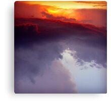 Fire.Ocean.Sky Canvas Print