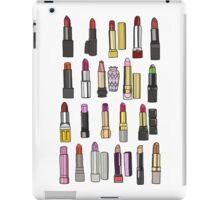 Your favorite lipstick collection iPad Case/Skin