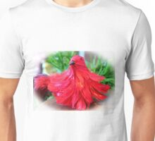 Red Feathers Unisex T-Shirt