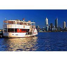Paddle Steamer Decoy - Perth Western Australia  Photographic Print