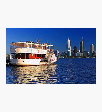 Paddle Steamer Decoy - Perth Western Australia  Photographic Print